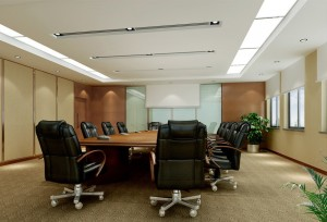 Black-chairs-design-for-modern-minimalist-conference-room